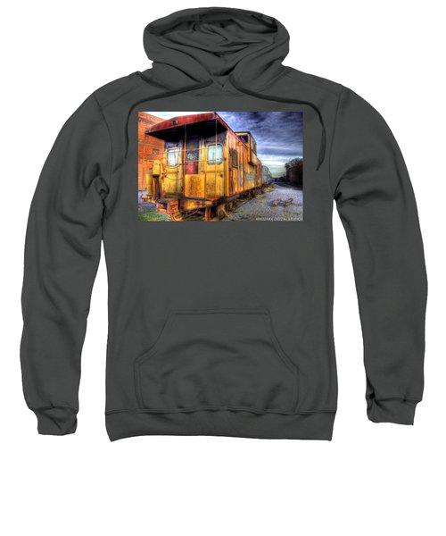 Train Caboose Sweatshirt by Jonny D