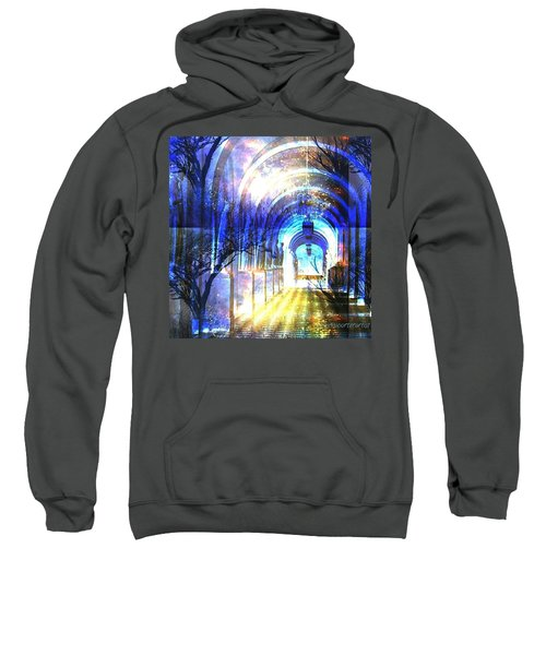Transitions Through Time Sweatshirt by Anna Porter