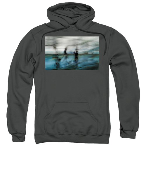 Sweatshirt featuring the photograph Travel Blues by Alex Lapidus
