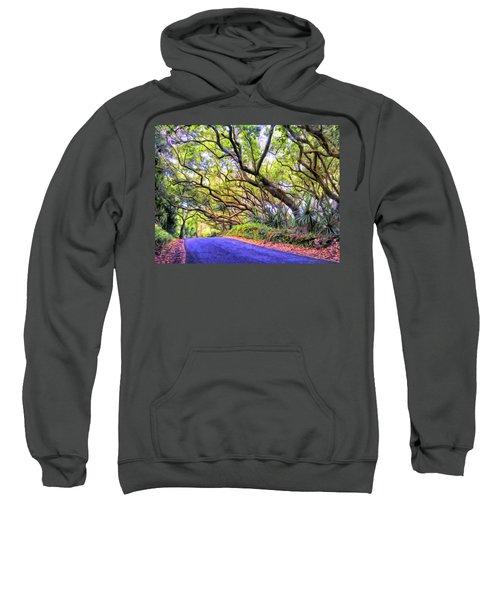 Tree Tunnel On The Big Island Sweatshirt
