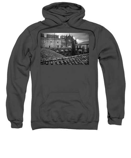 Tui Cathedral Cloister Bw Sweatshirt