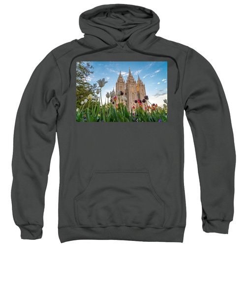 Tulips At The Temple Sweatshirt