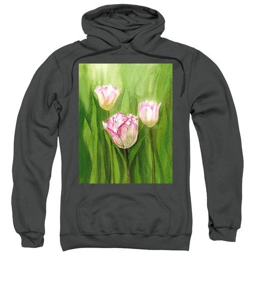 Tulips In The Fog Sweatshirt