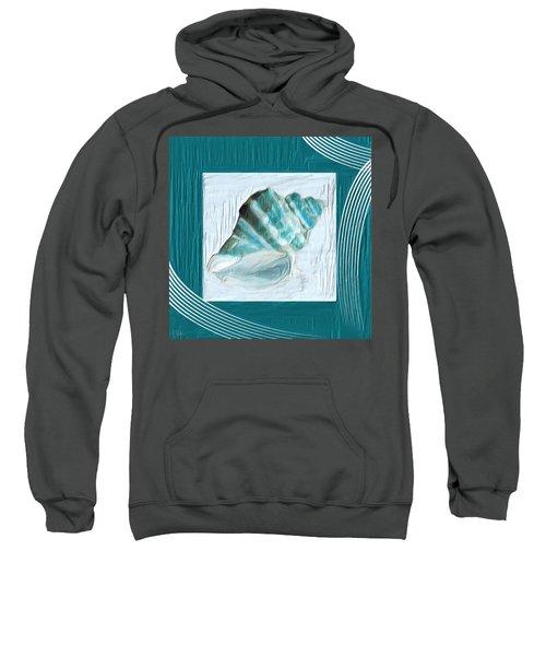 Turquoise Seashells Xxii Sweatshirt