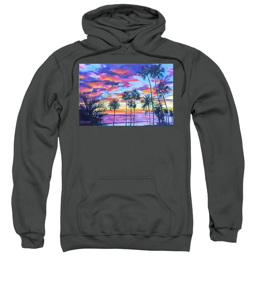 Twilight Palms Sweatshirt