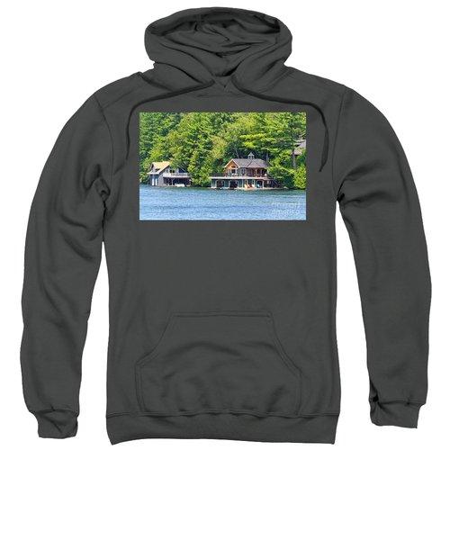 Two Luxury Boathouses Sweatshirt