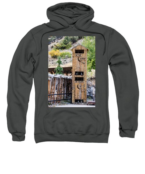 Two-story Outhouse Sweatshirt