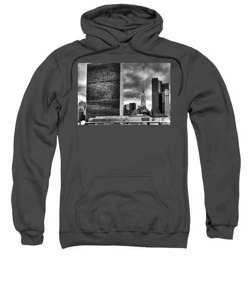 United Nations And Chrysler Building Sweatshirt