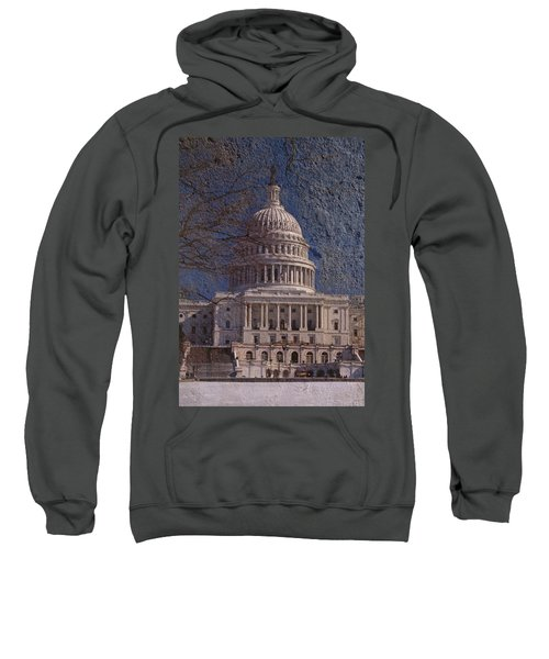 United States Capitol Sweatshirt by Skip Willits