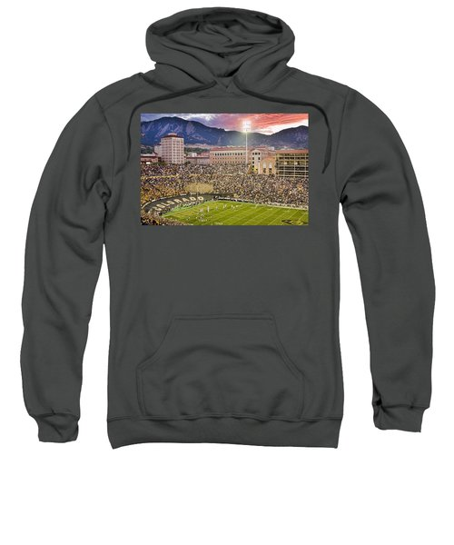 University Of Colorado Boulder Go Buffs Sweatshirt