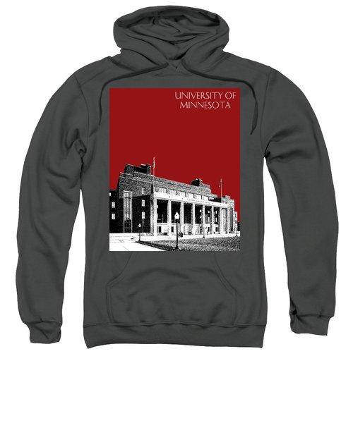 University Of Minnesota - Coffman Union - Dark Red Sweatshirt
