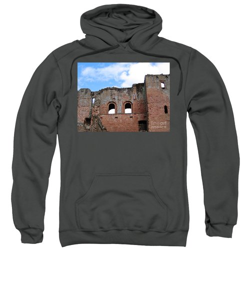 Sweatshirt featuring the photograph Upper Floors by Denise Railey