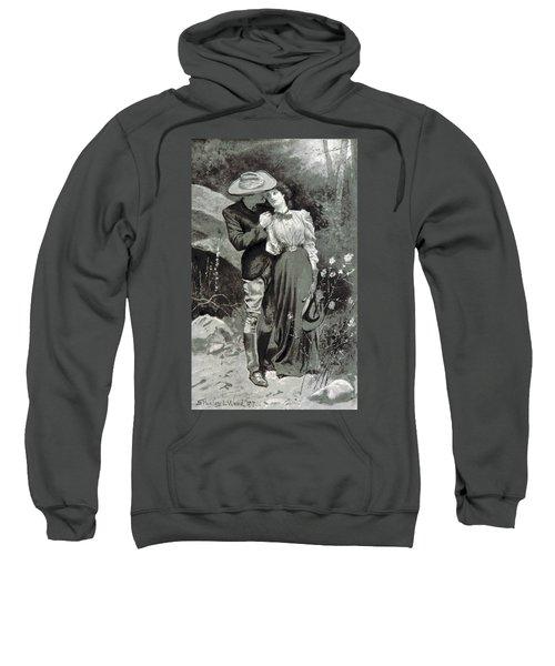 Valentines Day, 1898 Sweatshirt