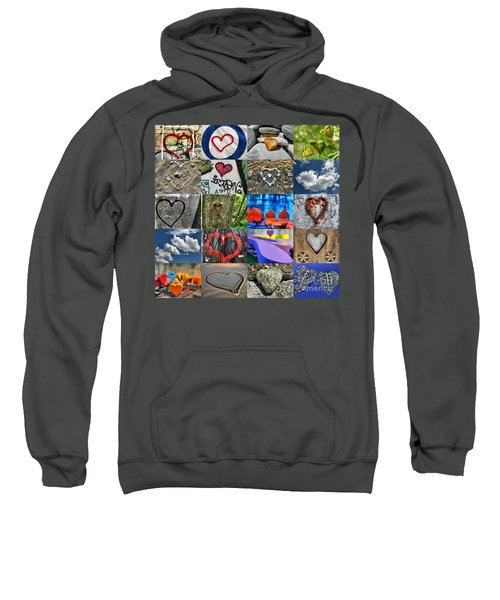 Valentine's Day - Hearts For Sale Sweatshirt
