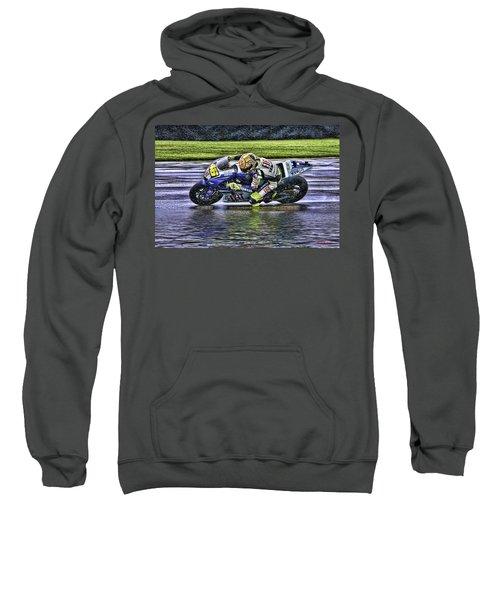 Valentino Rossi At Indy Sweatshirt