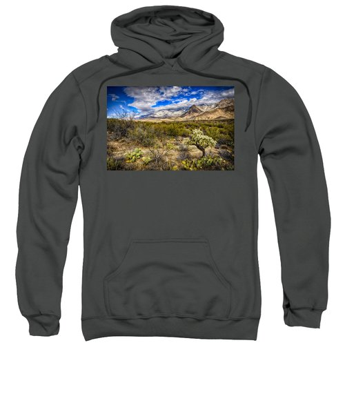 Sweatshirt featuring the photograph Valley View 27 by Mark Myhaver