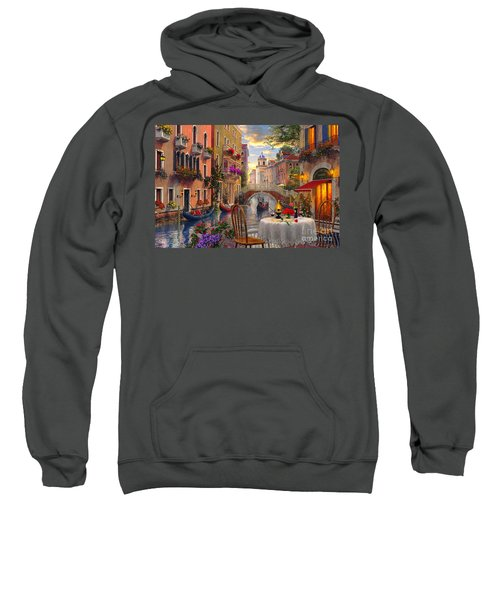 Venice Al Fresco Sweatshirt by Dominic Davison