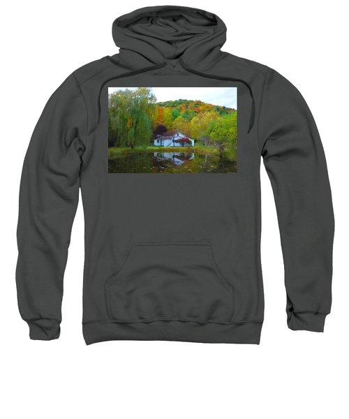 Vermont House In Full Autumn Sweatshirt
