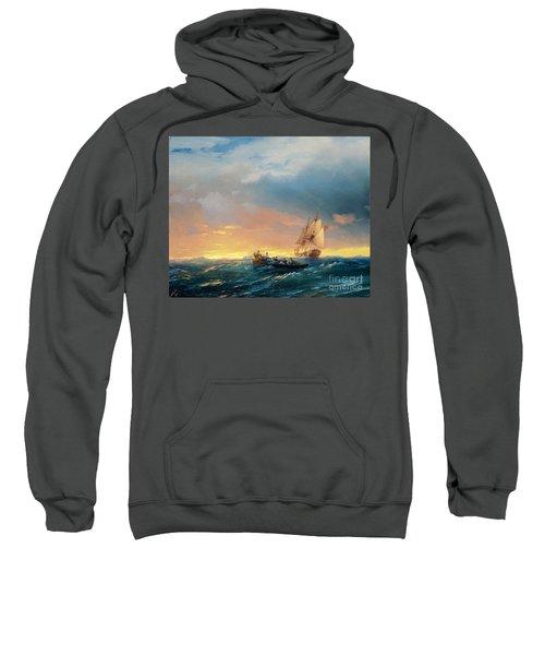 Storm On The Sea Sweatshirt