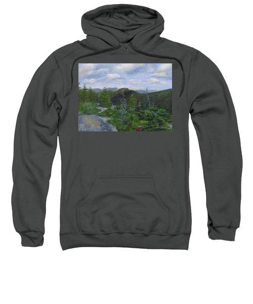 View From Noon Peak Sweatshirt