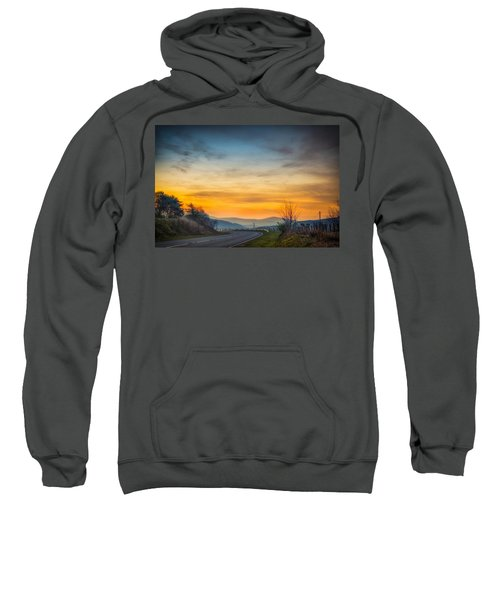 View Over Llyn Celyn Towards Bala Sweatshirt