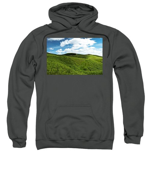 Sweatshirt featuring the photograph Vista by Ross G Strachan