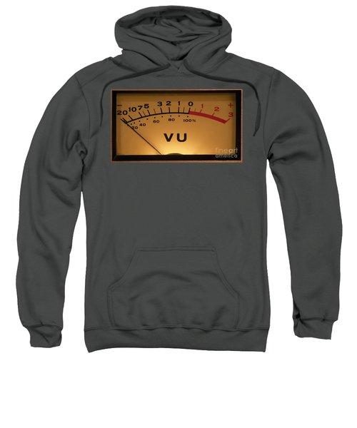 Vu Meter Illuminated Sweatshirt