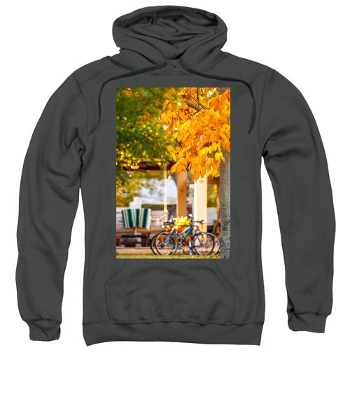 Waiting For A Ride Sweatshirt
