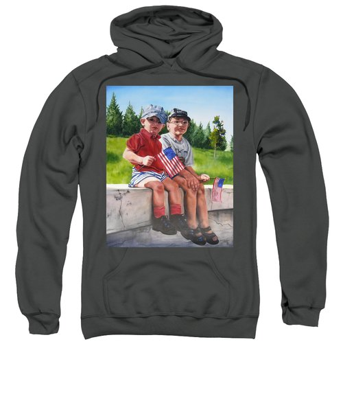 Waiting For The Parade Sweatshirt