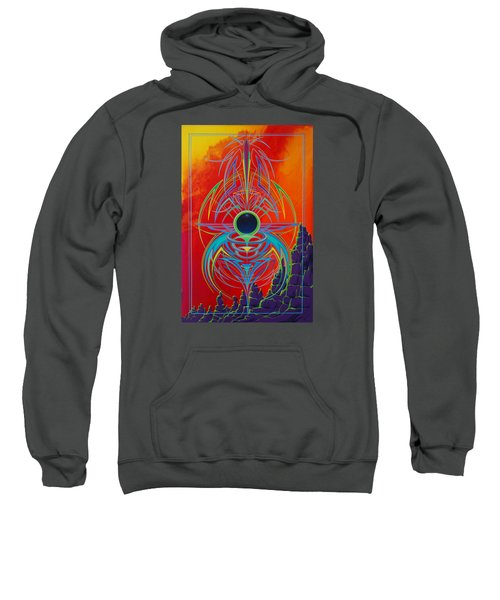 Waiting Over Sedona Sweatshirt