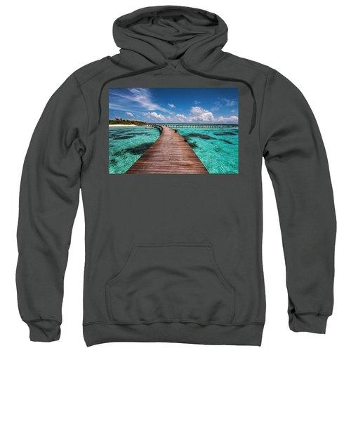 Walk Over The Water Sweatshirt
