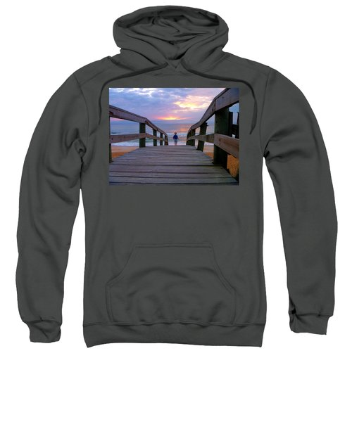 Walking Into Paradise Sweatshirt