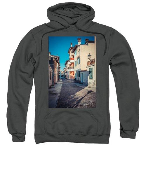walking through Grado - through the past Sweatshirt