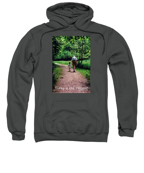 Walking With Grandma Sweatshirt