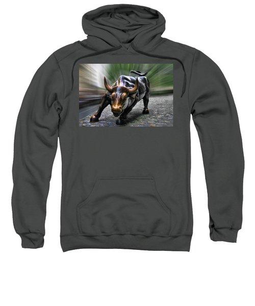 Wall Street Bull Sweatshirt