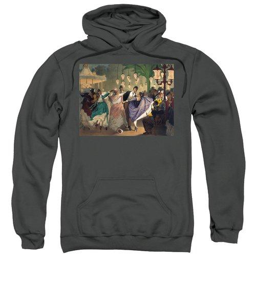 Waltz At The Bal Mabille  Sweatshirt
