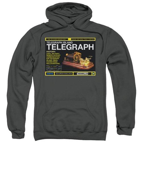 Warehouse 13 - Telegraph Island Sweatshirt
