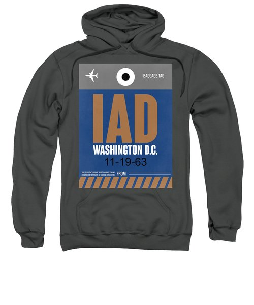 Washington D.c. Airport Poster 4 Sweatshirt