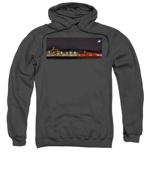 Washington Hall At Night Sweatshirt