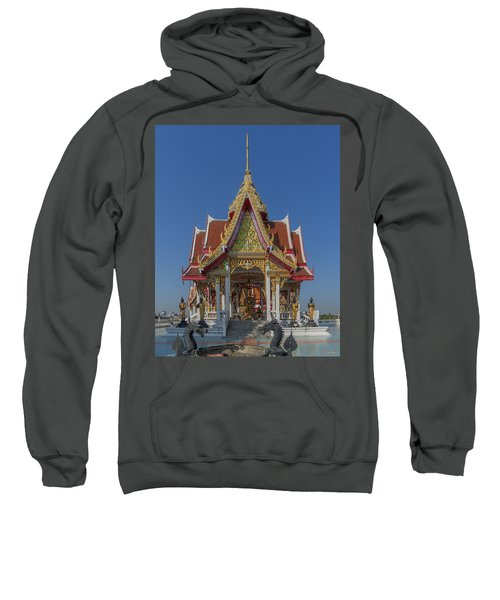 Wat Bukkhalo Central Roof-top Pavilion Dthb1809 Sweatshirt