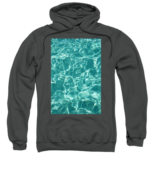 Water Meditation I. Five Elements. Healing With Feng Shui And Color Therapy In Interior Design Sweatshirt