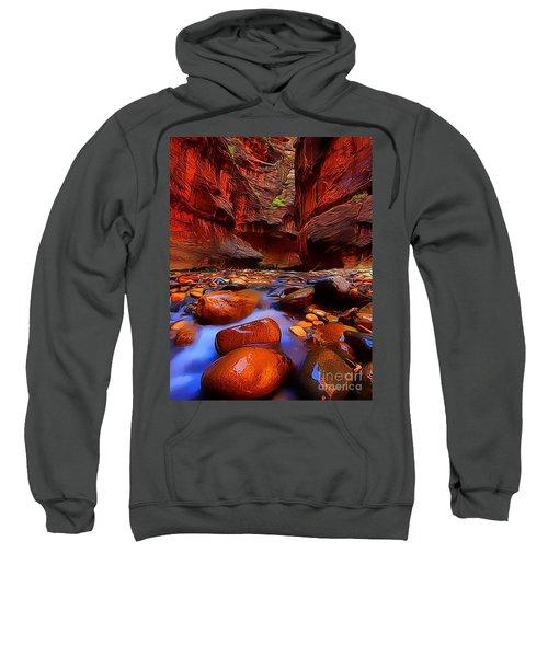 Water Runs Through It Sweatshirt
