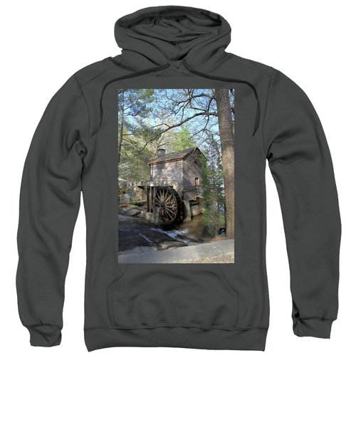 Waterwheel At Stone Mountain Sweatshirt