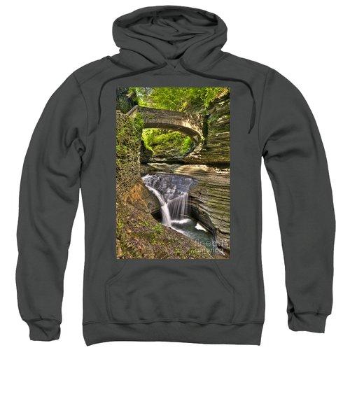 Watkins Glen Waterfalls Sweatshirt