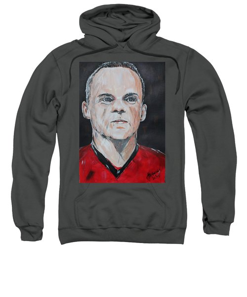 Wayne Rooney Sweatshirt by John Halliday