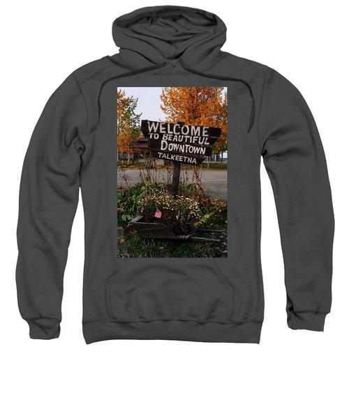 Welcome ... Sweatshirt