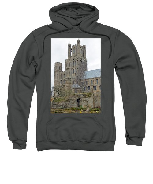 West Tower Of Ely Cathedral  Sweatshirt