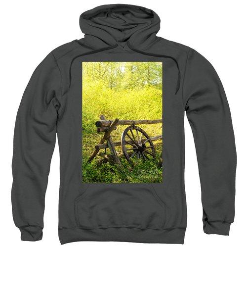 Wheel On Fence Sweatshirt
