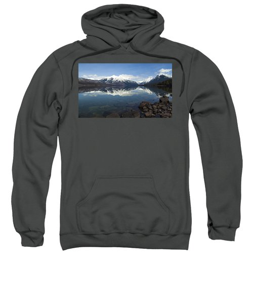 When The Sun Shines On Glacier National Park Sweatshirt