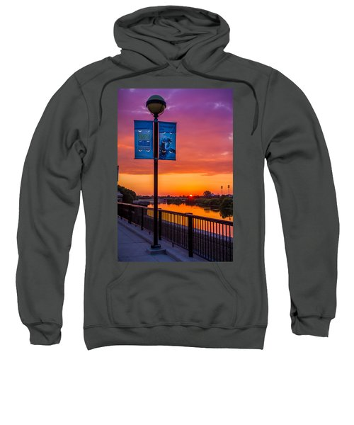 White River Sunset Sweatshirt